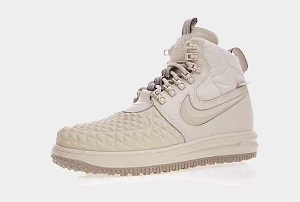 Фото Nike Lunar Force 1 Duckboot бежевые - 2